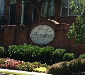 Providence Townhomes entry